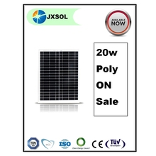 Hot sale poly solar cell plate 20w per watt price solar panel