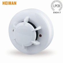 Heiman LPCB EN54-7 CE Approved Conventional Insect Proof Smoke Detector