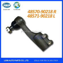 Tie rod end for Nissan lorry CW520 CW54 and UD 2000 2600 box trucks with OEM No. 48570-90218 RH and 48571-90218 LH