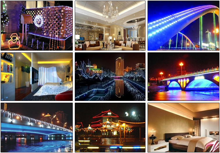 Holiday Decoration Flexible Led Strip Linght 5630