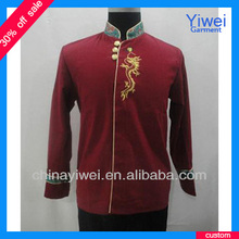 Custom long sleeves bellboy uniform for hotel