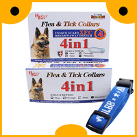 Dog accessories adjustable fleas & ticks nylon collars for large dogs