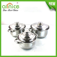 6pcs stainless steel cookware set / kitchenware set / cooking utensils
