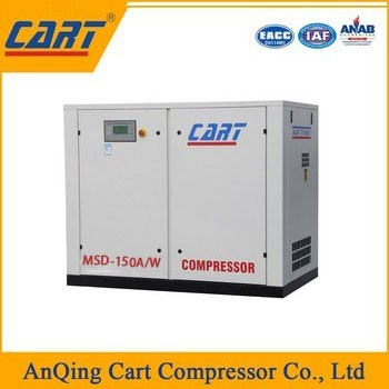Hot Sale Silent Belt Driven Combined Screw Air Compressor