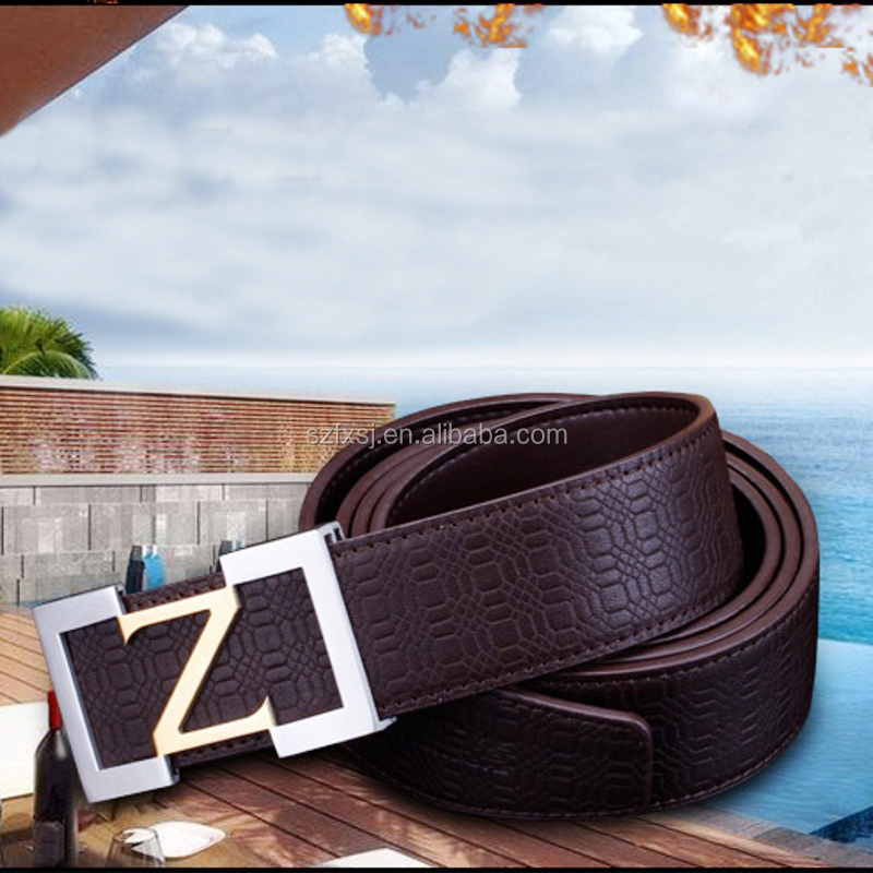 All-Match Stainless Steel Buckle Belt for Men