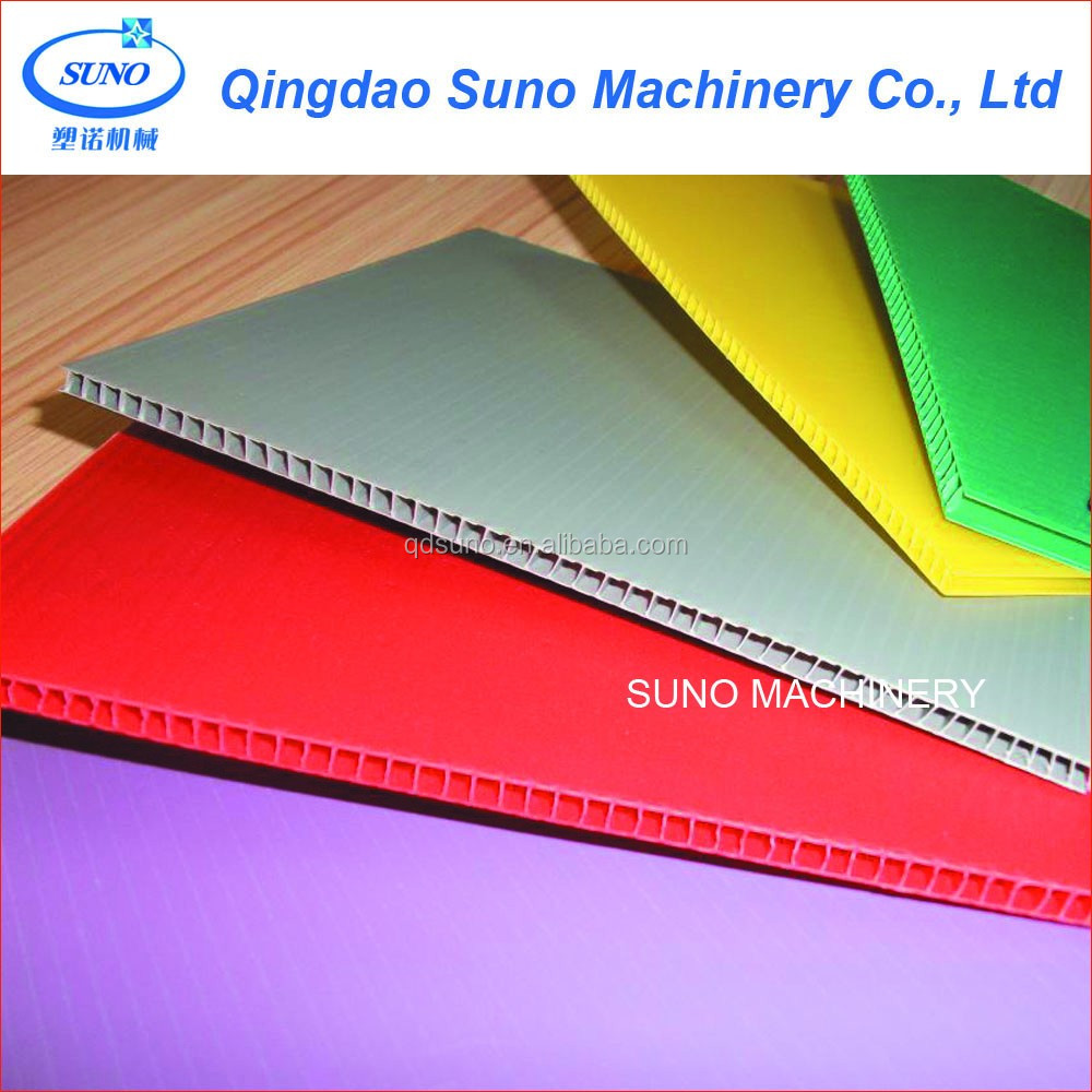 PP Hollow Grid Profile File Honeycomb Board Extrusion Line