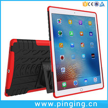 2 in1 Dual Layer Heavy Duty Shockproof Rugged Kickstand Case Cover For iPad Pro 9.7 Case