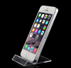 Acrylic made mobilephone display stand transparent cell phone display rack phone holder