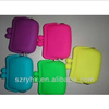 the latest design cute multicolor jelly purse candy color silicone smart purse