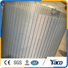 1mm slot size SUS 304 316 stainless steel wedge wire screen for filter
