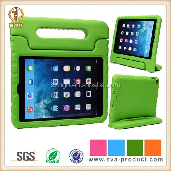 Shock Absorbent EVA Foam Protector Case for iPad Air 2 With Stand