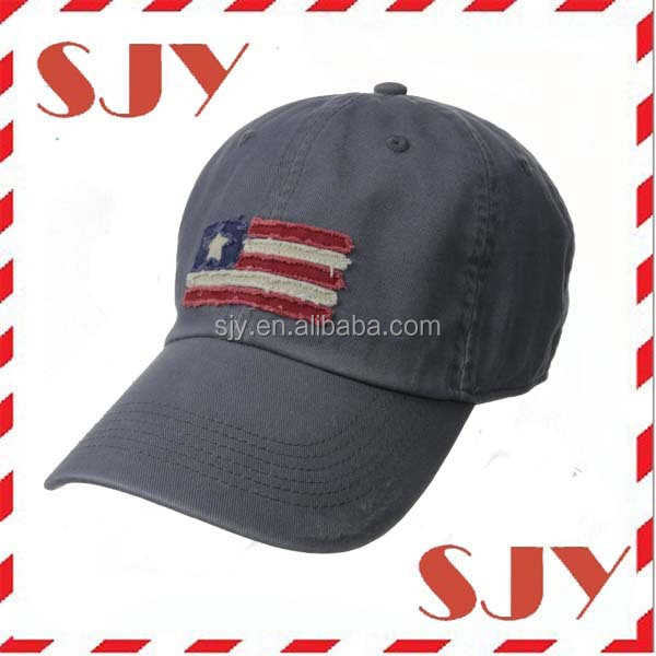 American washed cotton twill low profile vintage baseball caps for sale