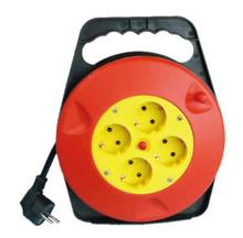 16A 5-15m smalll reel cable mini cable reel with GS CE