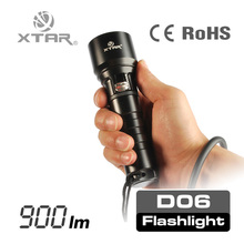 XTAR diving series best stepless dimming led flashlight with magnet for diving and waterproof torch