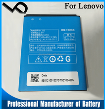 China mobile phone battery manufacturer for Lenovo P770 BL205 Mobile Phone Battery