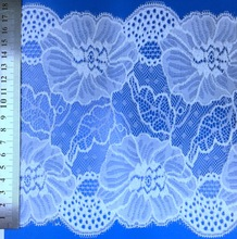 african french embroidery nylon beaded heavy net lace fabric