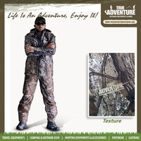 True Adventure TA1-001A Outdoor Men Hunting Breathable Camouflage Hunting Suit