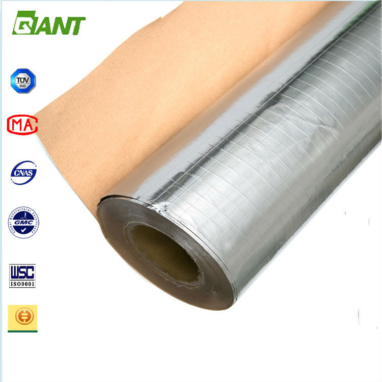 2016 factory aluminum foil insulation, aluminum thermal reflective foil insulation, heat insulation material with aluminum foil