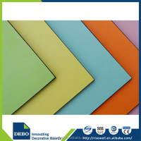 Gold supplier china hpl-compact phenolic compact laminate / hpl panel price