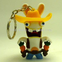 custom plastic rabbids toys;customized toy plastic rabbids toys