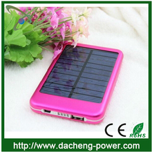 5000mAH cheap price colorful design waterproof solar charger car solar charger for mobile phone