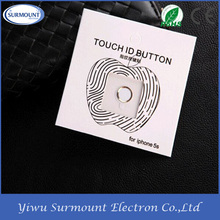 Factory Wholesale Beautiful Metal Protective Ring Guard Circle home button Ring sticker for samsung galaxy s4