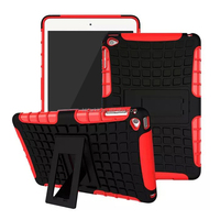 New Model Robot 2 in 1 Hybrid Cover Case For Ipad Mini 4