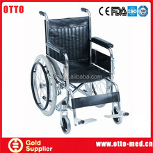 steel wheelchair comfortable chairs for the elderly