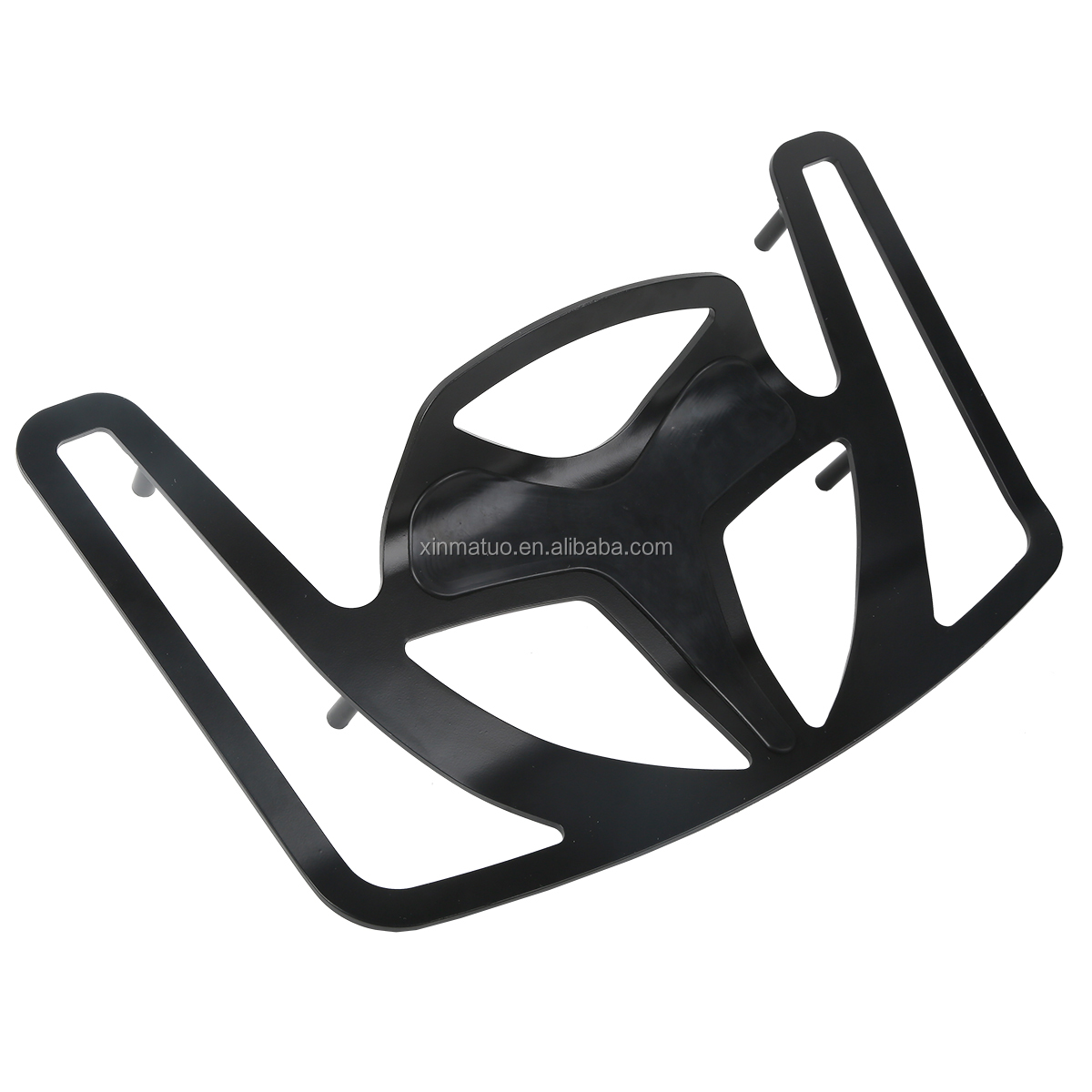 XF-GL1896-B Black CNC Aluminum Trunk luggage Rack For Honda Goldwing GL1800 2001-2017 02 <strong>03</strong>