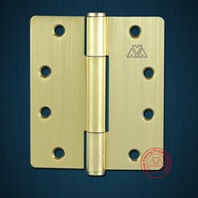 43527 Satin brass 3 knuckle Steel hinge for wooden & iron door special in Korea market