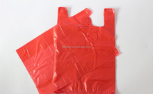 Die cut plastic shopping bags pe