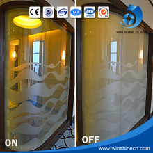 Cleanning Convenient self adhesive smart glass film price
