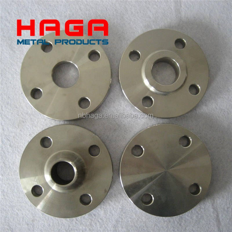EN1092-1 PN6 PN10 PN16 PN25 PN40 Loose Plate Flange with Weld-neck Collar