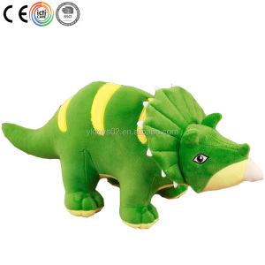 "8"" Hot selling Dinosaur stuffed toy custom plush carton toys for kids"