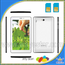 New 2G GSM Tablet 7 Inch Unlock Phone Tablet Android 4.1 Dual Sim 2 Camera