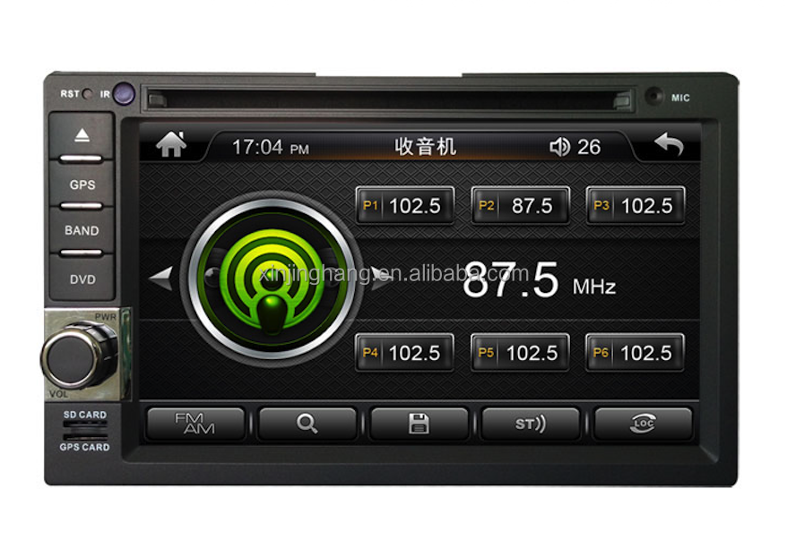 "7"" universal generic units 2din dvd gps navigion for fulwin with swc bt phonebook gps navigation placement on dashboard"
