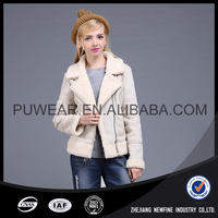 Fashionable Popular New Brand Cool Safety Lady Suede Jacket