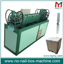 Durable wood box auto packaging machine
