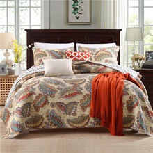 Modern style trendy style cotton quilt cover set directly sale