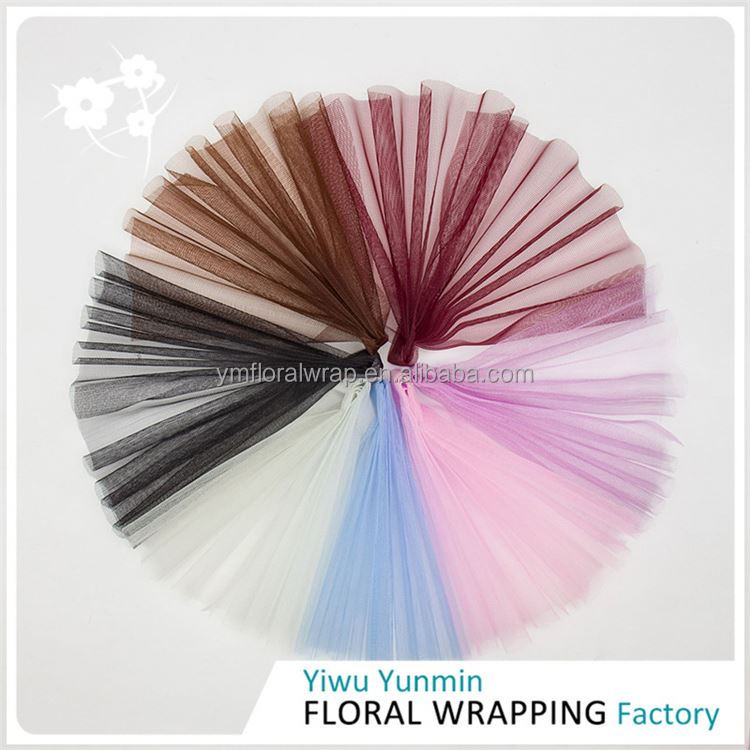 New hotsale attractive style Korea mesh wrapping paper gifts