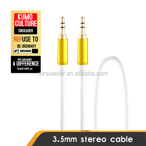 3.5mm audio cable for car audio aux 3.5mm usb cable, 3.5mm stereo male to female audio aux cable