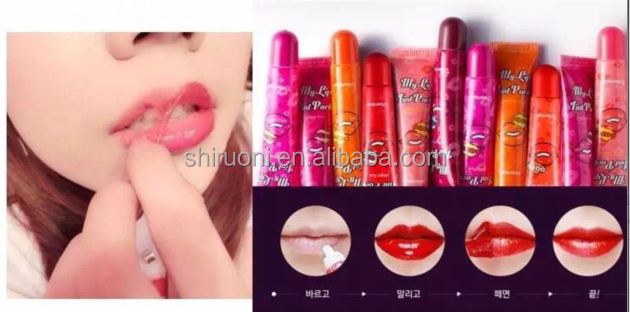 make your own customize private label logos naked lip tattoo matte liquid lipstick with pen pencil for children