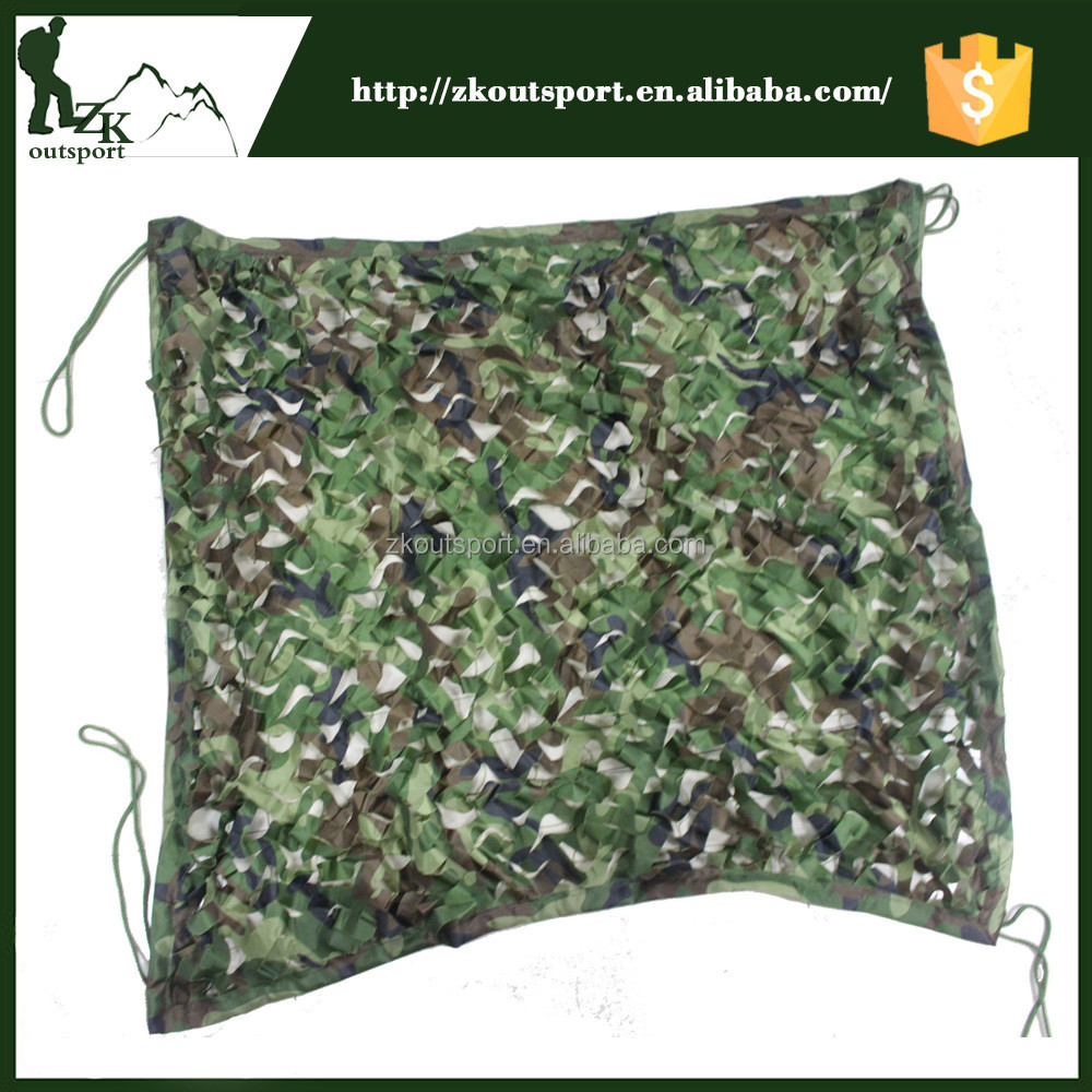 Factory wholesales nylon military camouflage net lightweight camo netting hunting camouflage net