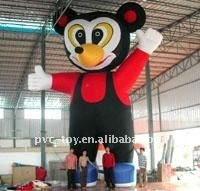 inflatable cartoon character for party decoration