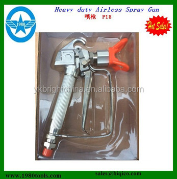 Water based paint spray gun G230/G220/G210 HS 84242000 and nozzle tips seat