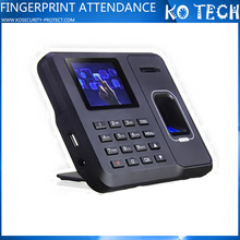 KO-M6 Fingerprint time attendance finger print time card calculator