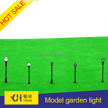 Hot sale single head scale model garden light