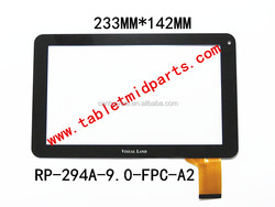 Tablet replacement 9 inch touch screen digitizer RP-294A-9.0-FPC-A2