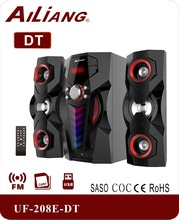 Nuevo 2.1 sistema de altavoces multimedia con bluetooth