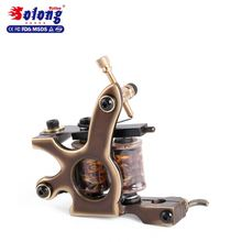 Solong Custom Tattoo Machine Gun 8 Wraps Pure Copper Coils for Liner high quality coil tattoo machine